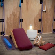 yoga therapy thebirchstudio supported props small classes